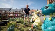 Stukgeslagen paashazen krijgen tweede leven in paasdorp