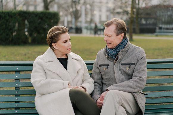 Groothertog Henri(64) en groothertogin Maria Teresa (63) brachten vorig weekend door in het Zwitserse Genève. Maria Teresa werd in Cuba geboren, maar groeide grotendeels in Zwitserland op.