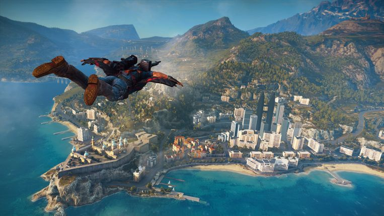 Someday I'll fly away... Beeld Avalanche Studios