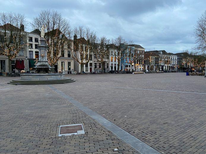 De Brink in Deventer is leeg