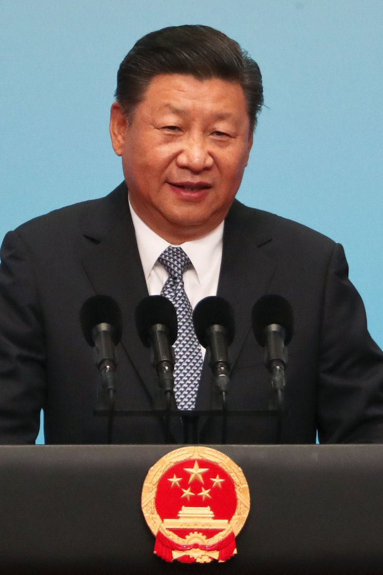 De Chinese president Xi Jinping.
