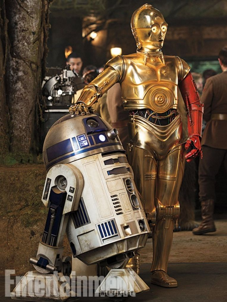 Geen Star Wars zonder R2-D2 en C-3PO.