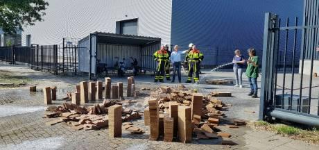 Weer brand bij aanmaakblokjesfabriek in Oisterwijk: vuur nu in de kiem gesmoord