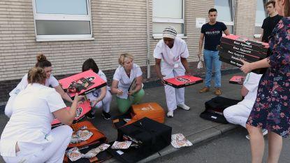 Pizza Forty-Five levert 26 large pizza's aan ziekenhuispersoneel