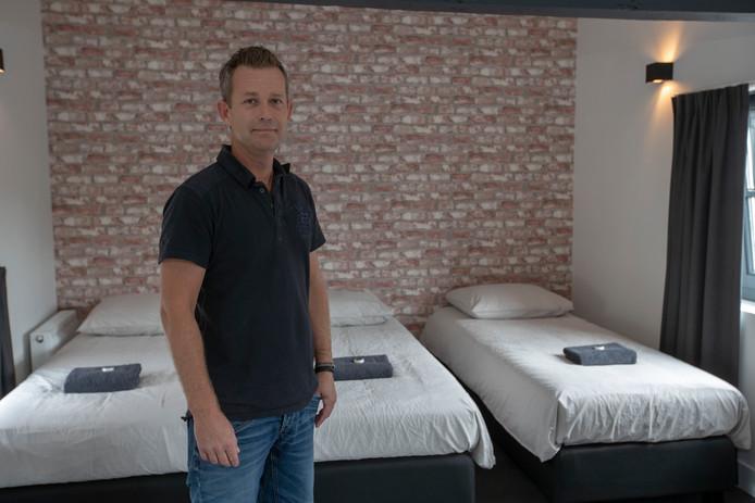 Beheerder Jeroen Korstjens van bed and breakfast Winston op het Stratumseind in Eindhoven.