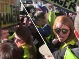 Leidster Gele Hesjes aangevallen door mede-demonstranten