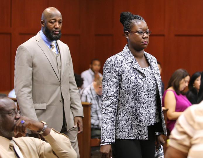 Tracy et Sybrina, les parents de Trayvon Martin