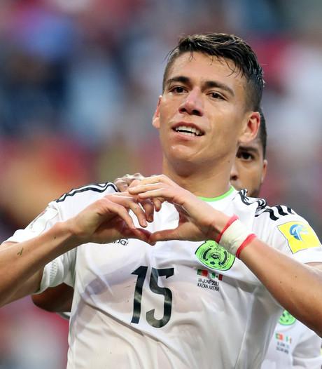 Moreno ook voor  Mexico zeer waardevol