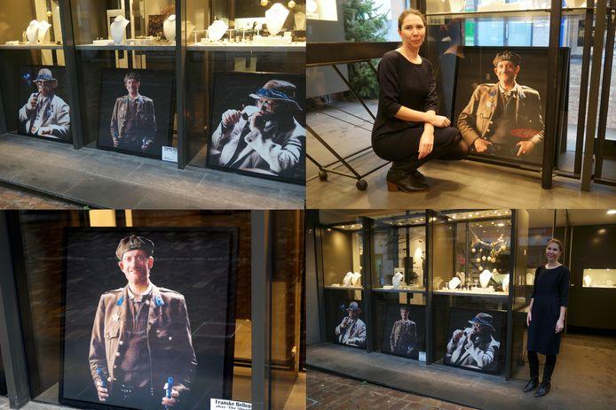 Wie is De Sheriff die op de foto's staat bij juwelier Leda?