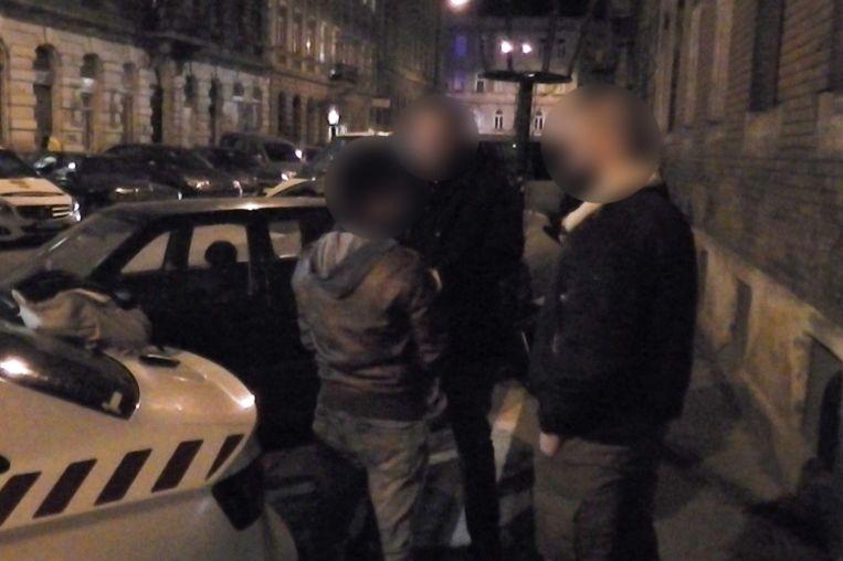 Een beeld van de arrestatie van Rui Pinto, de man achter het klokkenluidersplatform Football Leaks.