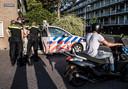 De politie verrichtte meerdere arrestaties in Zaandam
