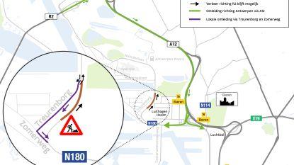 Noorderlaan in Antwerpse haven vanaf dinsdag zes weken opgebroken voor werken