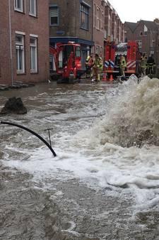 Wateroverlast in Goes: 'Ik kan wel janken'