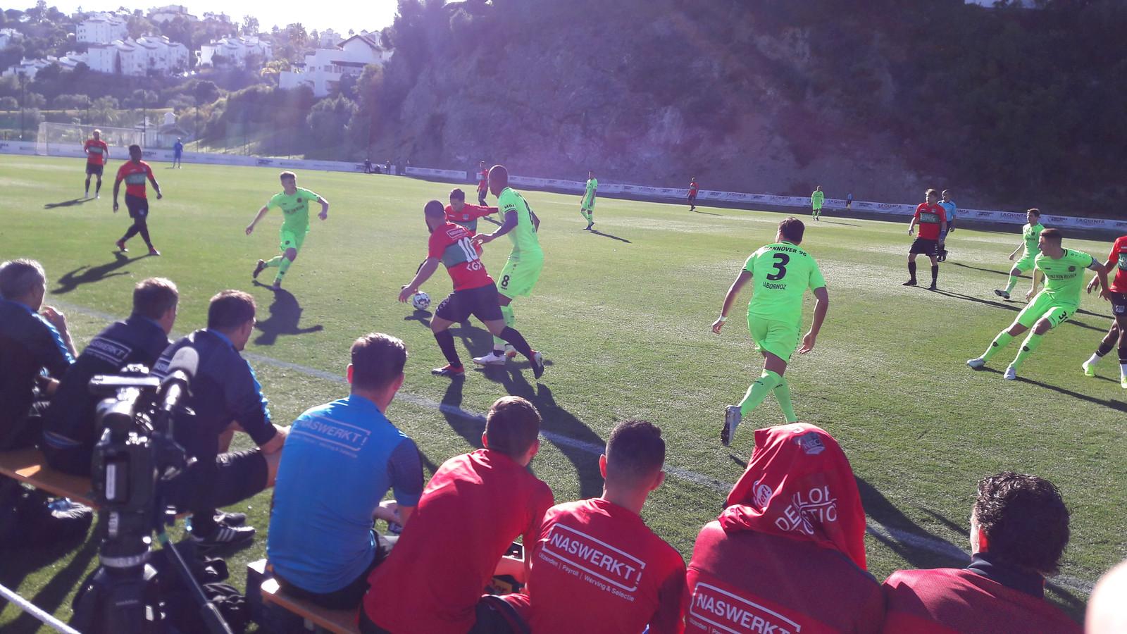 NEC in actie in Marbella
