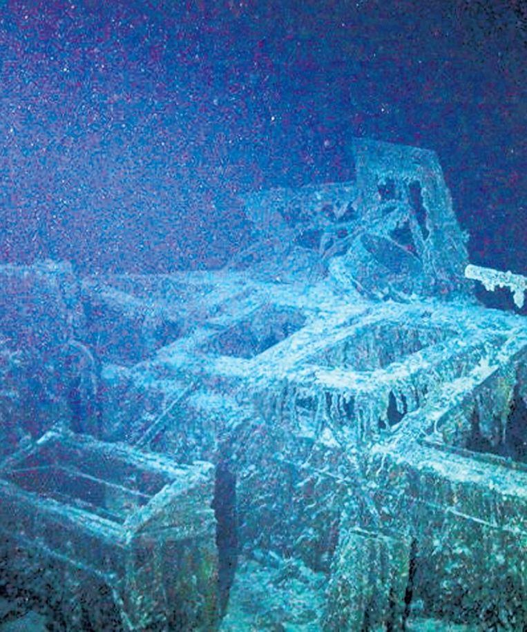 Na de Tweede Wereldoorlog werden tientallen schepen met chemisch wapentuig tot zinken gebracht. © EPA Beeld