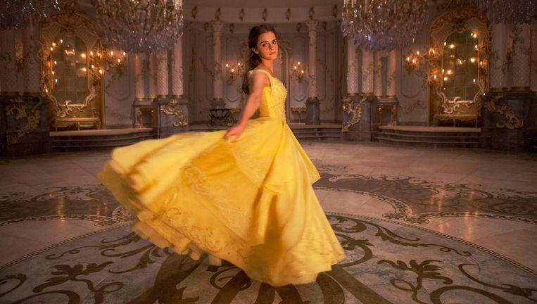 Emma Watson als Belle Beeld Laurie Sparharn