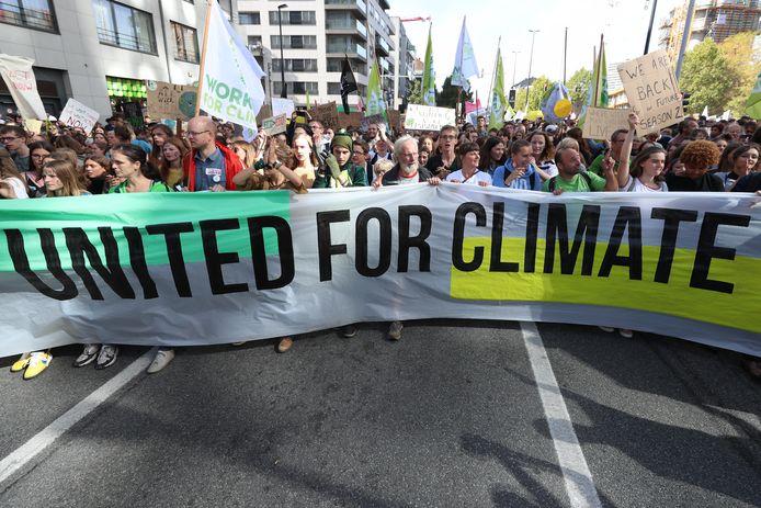 Marche pour le climat, ce vendredi à Bruxelles