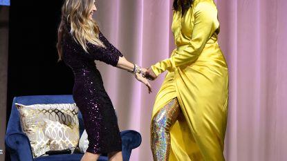 Michelle Obama verbluft met duizelingwekkende hoge glitterlaarzen van 4000 dollar