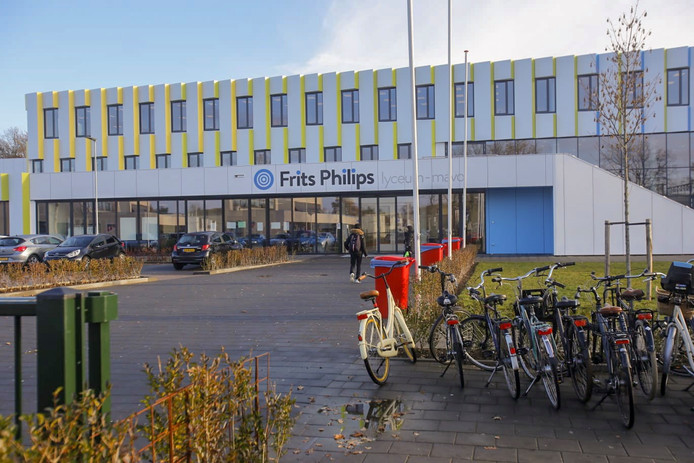 Het Frits Philips lyceum.