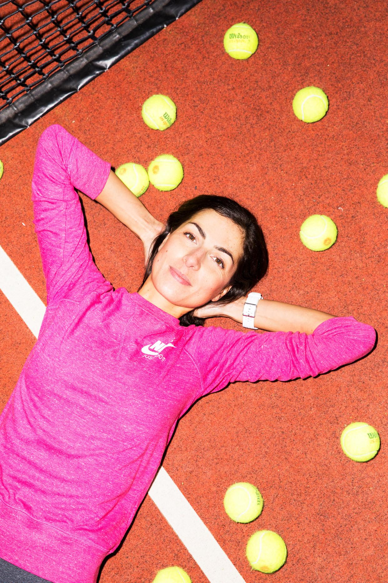 Kasia Vermaire onderging een poeptransplantatie en nu kan ze onder andere weer sporten. Beeld Marie Wanders