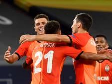 Sjachtar kegelt Van Wolfswinkel en Van der Werff met FC Basel uit Europa League