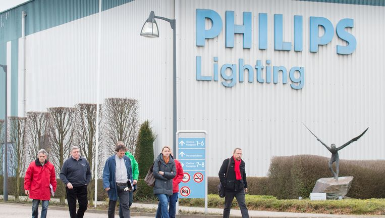Philips Lighting in Turnhout, België. Beeld belga