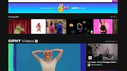 Opnieuw een platform erbij: Facebook neemt Giphy over