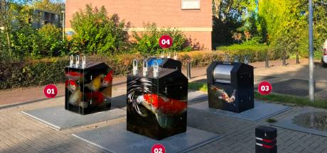 Vissen op Doesburgse containers tegen afvaldumping