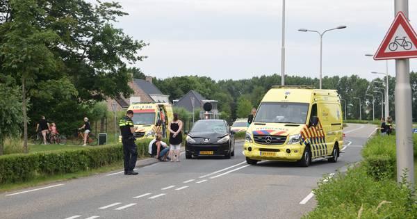 Voetganger raakt zwaar gewond bij ongeluk in Hulst.