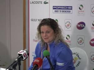 """Clijsters satisfaite de son Kimback: """"C'était chouette!"""""""