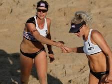 Keizer/Meppelink naar achtste finales EK beachvolleybal