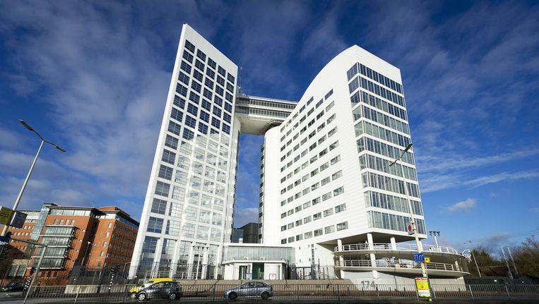 De gebouwen van ICC en Eurojust in Den Haag. Beeld anp