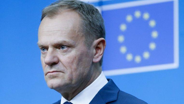 EU-President Donald Tusk Beeld epa