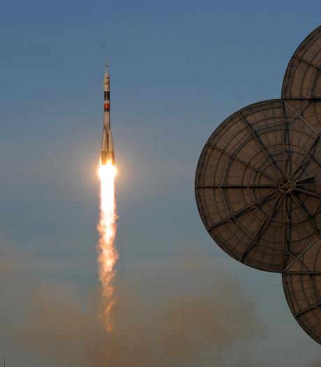 Nieuwe bemanning op weg naar internationaal ruimtestation ISS