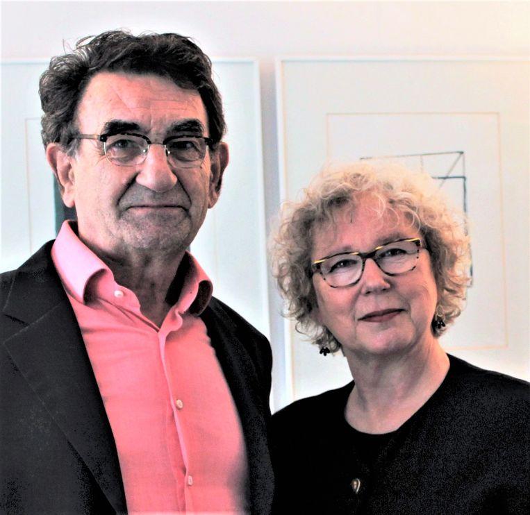 Micky Piller en Kristoffel Lieten van opwegnaardekunst.nl. Beeld opwegnaardekunst.nl