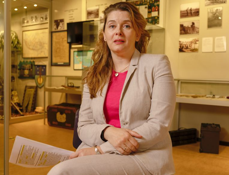 Palmyra Westerling, dochter van Raymond Westerling, werd zelf afgewezen bij de luchtmacht. Ze is nu leidinggevende bij een grote Nederlandse bank.  Beeld Suzanne Liem