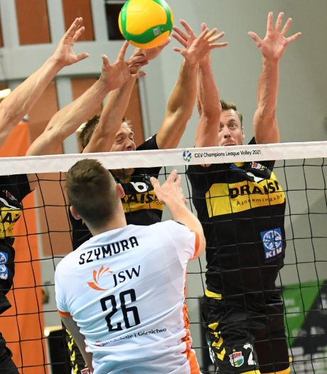 Draisma Dynamo uitgeschakeld in Champions League na 3-0 nederlaag tegen Jastrzębski Węgiel