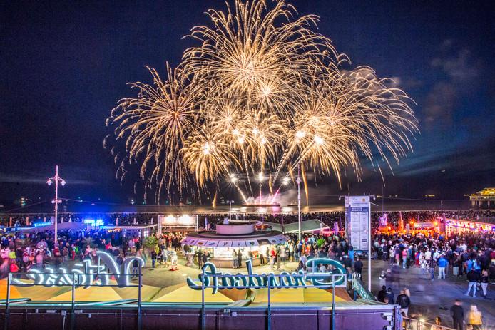 Internationaal vuurwerkfestival Scheveningen. Editie 2018.