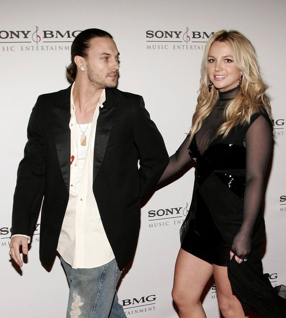 Kevin Federline en Britney Spears in 2006