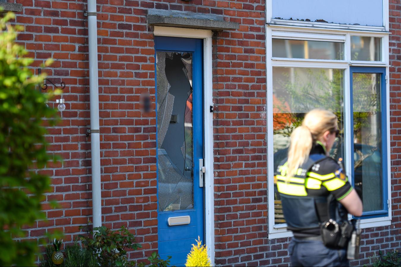 Ruit ingeslagen in Bodegraven