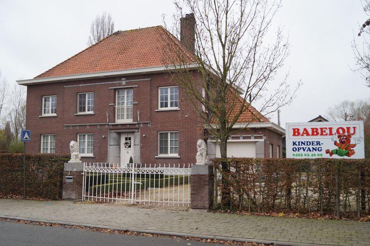 Kinderopvang Babelou in de Bekaertsdreef in Meulebeke.