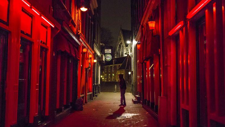 De Amsterdamse Wallen. Beeld Marc Driessen