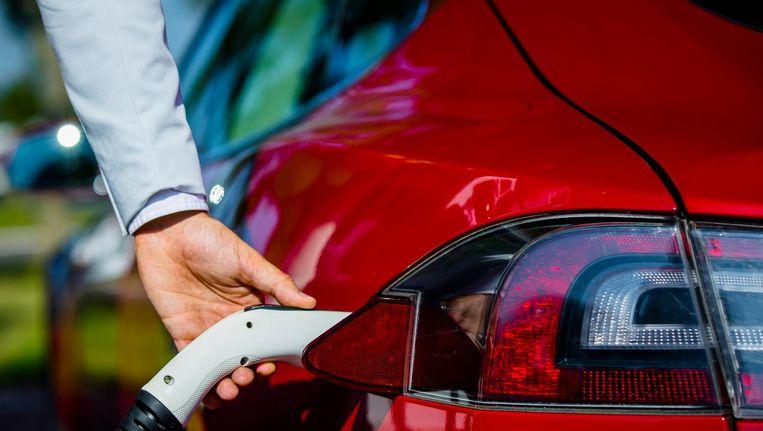 Er komen gemiddeld zes laders met een capaciteit van 350 kilowatt bij tachtig tankstations Beeld ANP