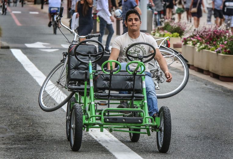 Pukkelpop zoekt gocart-chauffeurs.    Foto Henk Deleu