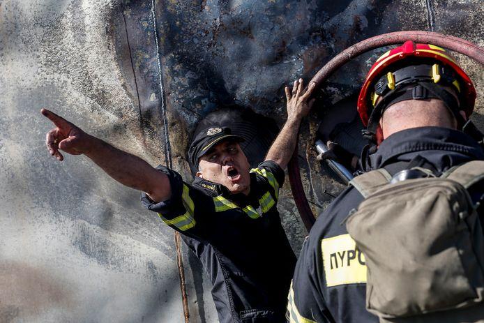 De Griekse brandweer kwam de afgelopen dagen veelvuldig in actie.