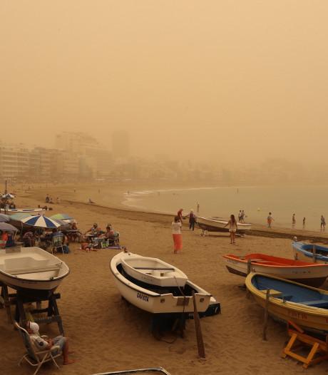 Zware zandstorm teistert Nederlanders op Canarische Eilanden: 'Het is angstaanjagend'