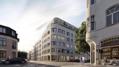Bouw nieuw flatgebouw start in augustus 2019