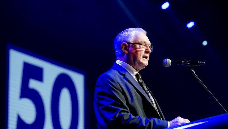 Oud-voorzitter van 50 Plus Jan Nagel Beeld anp