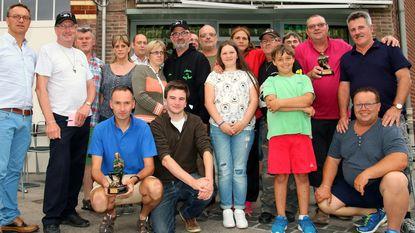 Dimitri is kampioen bij hengelclub De Unionvissers