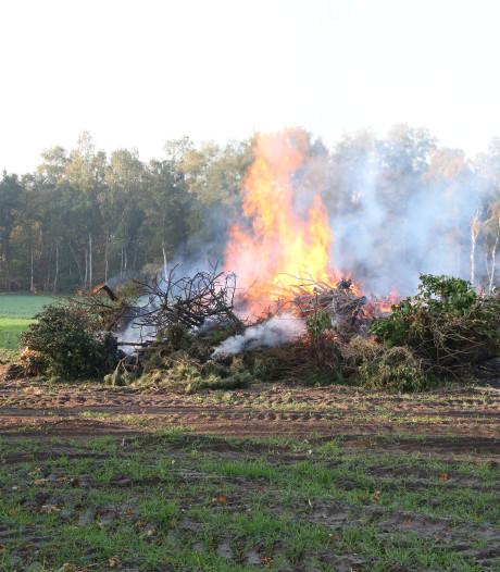 Brandweer onderneemt geen actie bij brand in Ommen